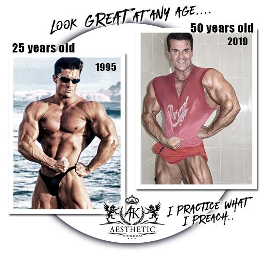 Steve Jones Bodybuilder Aesthetics