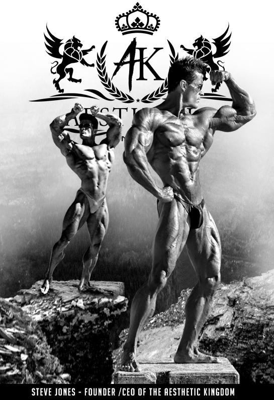 Steve Jones bodybuilder Aesthetic Kingdom