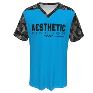 mens camouflage t shirt blue