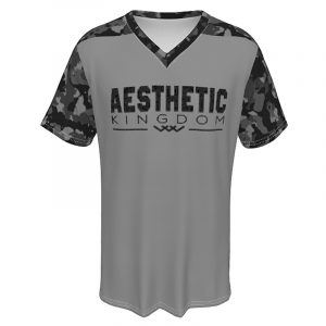 mens camouflage t shirt grey