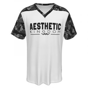 mens camouflage t shirt white