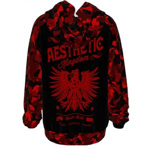 unisex camo hoodie red5 Home