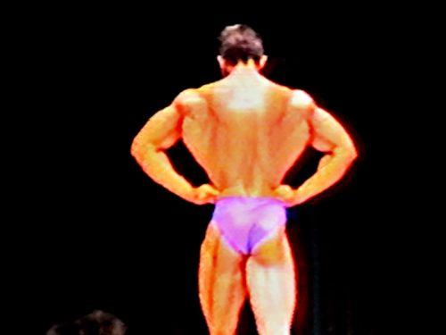 Steve Jones Posing Routine