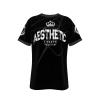 Mens Aesthetic Signature T Shirt Black